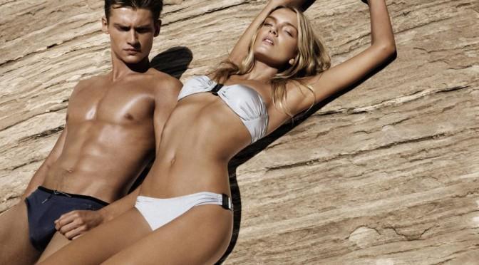 Supermodelos, marcas de lujo, sensualidad y escándalo