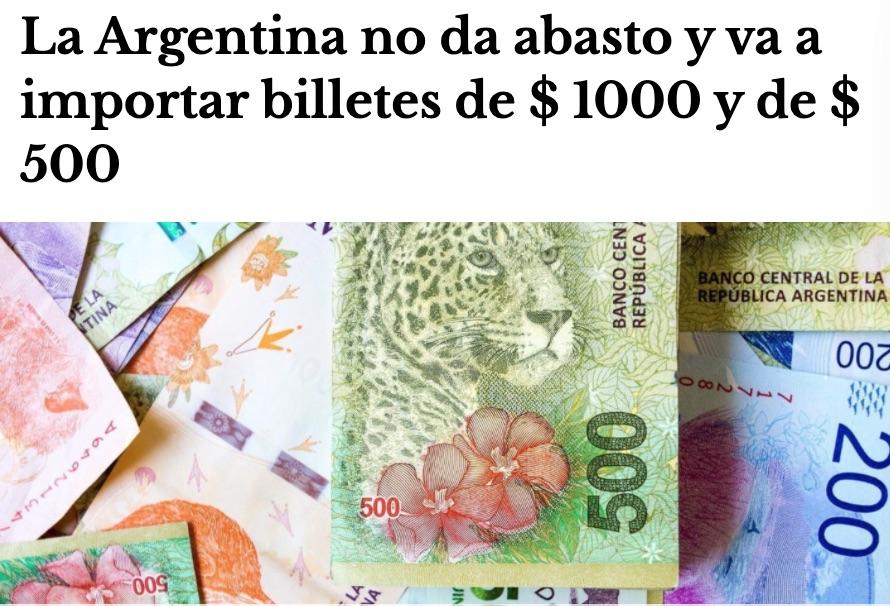 emision monetaria argentina 2020